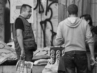 Solidaridad en la calle